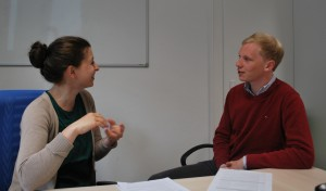 Young Researchers Group meets for a Rhetorical Skills and Interview Techniques Workshop